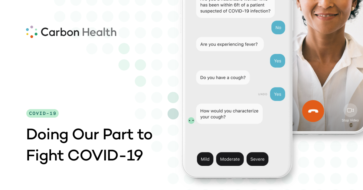 Coronavirus In California Covid 19 Testing Carbon Health