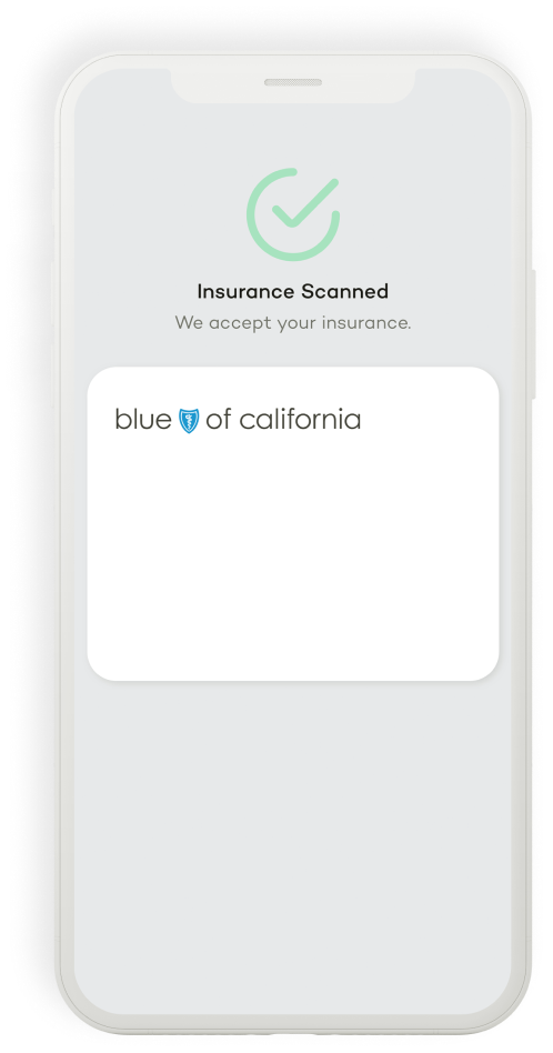 Scan your insurance card with your phone.